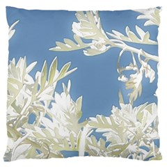 Nature Pattern Large Flano Cushion Case (two Sides) by dflcprintsclothing