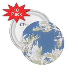 Nature Pattern 2 25  Buttons (10 Pack)  by dflcprintsclothing