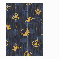 Christmas Angelsstar Yellow Blue Cool Small Garden Flag (two Sides) by Alisyart