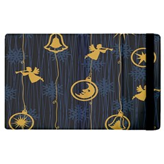Christmas Angelsstar Yellow Blue Cool Apple Ipad Pro 9 7   Flip Case by Alisyart