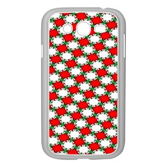 Christmas Star Red Green Samsung Galaxy Grand Duos I9082 Case (white) by Alisyart