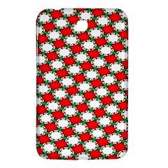 Christmas Star Red Green Samsung Galaxy Tab 3 (7 ) P3200 Hardshell Case  by Alisyart