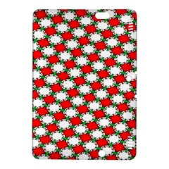 Christmas Star Red Green Kindle Fire Hdx 8 9  Hardshell Case by Alisyart