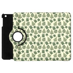Christmas Pattern Gif Star Tree Happy Apple Ipad Mini Flip 360 Case by Alisyart