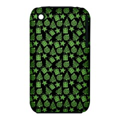 Christmas Pattern Gif Star Tree Happy Green Iphone 3s/3gs by Alisyart