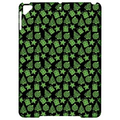 Christmas Pattern Gif Star Tree Happy Green Apple Ipad Pro 9 7   Hardshell Case by Alisyart
