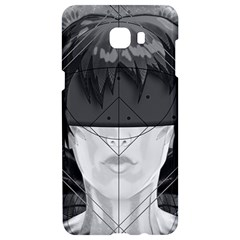 Beautiful Bnw Fractal Feathers For Major Motoko Samsung C9 Pro Hardshell Case  by beautifulfractals