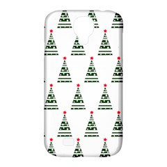 Christmas Tree Green Star Red Samsung Galaxy S4 Classic Hardshell Case (pc+silicone) by Alisyart