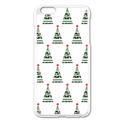 Christmas Tree Green Star Red Apple Iphone 6 Plus/6s Plus Enamel White Case by Alisyart