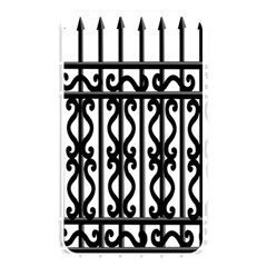 Inspirative Iron Gate Fence Grey Black Memory Card Reader