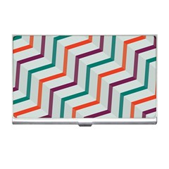 Line Color Rainbow Business Card Holders by Alisyart