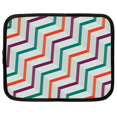 Line Color Rainbow Netbook Case (large) by Alisyart