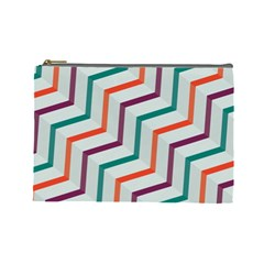 Line Color Rainbow Cosmetic Bag (large)  by Alisyart