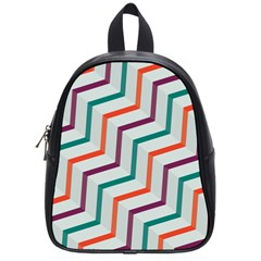Line Color Rainbow School Bag (small) by Alisyart