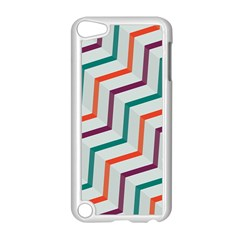 Line Color Rainbow Apple Ipod Touch 5 Case (white) by Alisyart