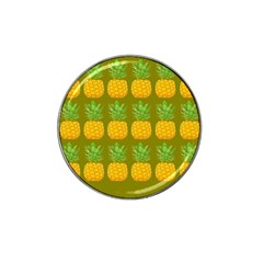 Fruite Pineapple Yellow Green Orange Hat Clip Ball Marker (4 Pack) by Alisyart
