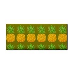 Fruite Pineapple Yellow Green Orange Cosmetic Storage Cases by Alisyart