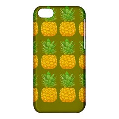 Fruite Pineapple Yellow Green Orange Apple Iphone 5c Hardshell Case by Alisyart