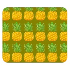 Fruite Pineapple Yellow Green Orange Double Sided Flano Blanket (small)