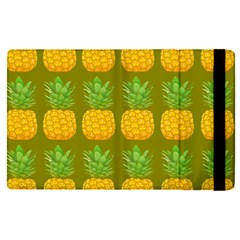 Fruite Pineapple Yellow Green Orange Apple Ipad Pro 12 9   Flip Case by Alisyart