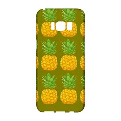 Fruite Pineapple Yellow Green Orange Samsung Galaxy S8 Hardshell Case