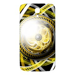 Incredible Eye Of A Yellow Construction Robot Samsung Galaxy Mega I9200 Hardshell Back Case by jayaprime