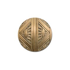 Art Deco Gold Door Golf Ball Marker (10 Pack) by 8fugoso