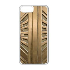 Art Deco Gold Door Apple Iphone 8 Plus Seamless Case (white) by 8fugoso