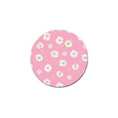 Pink Flowers Golf Ball Marker (4 Pack) by 8fugoso