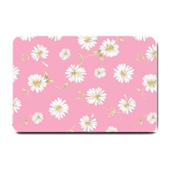 Pink Flowers Small Doormat  by 8fugoso