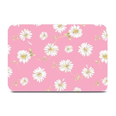 Pink Flowers Plate Mats by 8fugoso