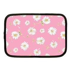 Pink Flowers Netbook Case (medium)  by 8fugoso