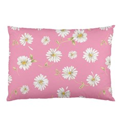 Pink Flowers Pillow Case by 8fugoso