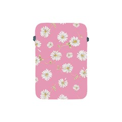 Pink Flowers Apple Ipad Mini Protective Soft Cases by 8fugoso