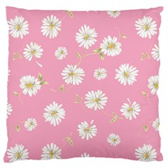 Pink Flowers Standard Flano Cushion Case (two Sides) by 8fugoso