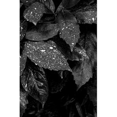 Black And White Leaves Photo 5 5  X 8 5  Notebooks by dflcprintsclothing