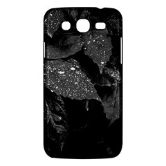 Black And White Leaves Photo Samsung Galaxy Mega 5 8 I9152 Hardshell Case  by dflcprintsclothing