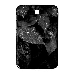 Black And White Leaves Photo Samsung Galaxy Note 8 0 N5100 Hardshell Case  by dflcprintsclothing