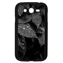 Black And White Leaves Photo Samsung Galaxy Grand Duos I9082 Case (black) by dflcprintsclothing
