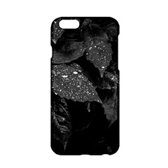 Black And White Leaves Photo Apple Iphone 6/6s Hardshell Case by dflcprintsclothing
