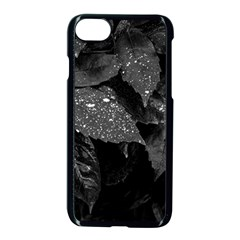 Black And White Leaves Photo Apple Iphone 7 Seamless Case (black) by dflcprintsclothing