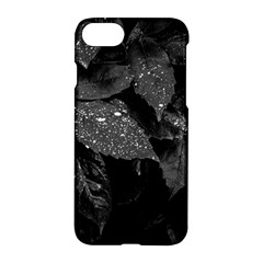 Black And White Leaves Photo Apple Iphone 8 Hardshell Case by dflcprintsclothing