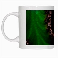 Benthic Saltlife Fractal Tribute For Reef Divers White Mugs by beautifulfractals