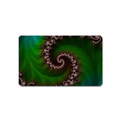Benthic Saltlife Fractal Tribute For Reef Divers Magnet (name Card) by jayaprime