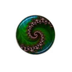 Benthic Saltlife Fractal Tribute For Reef Divers Hat Clip Ball Marker (4 Pack) by beautifulfractals