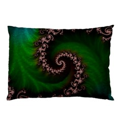 Benthic Saltlife Fractal Tribute For Reef Divers Pillow Case by jayaprime