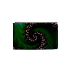 Benthic Saltlife Fractal Tribute For Reef Divers Cosmetic Bag (small)  by jayaprime