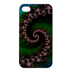 Benthic Saltlife Fractal Tribute For Reef Divers Apple Iphone 4/4s Hardshell Case by beautifulfractals