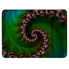 Benthic Saltlife Fractal Tribute For Reef Divers Samsung Galaxy Tab 7  P1000 Flip Case by beautifulfractals