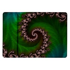 Benthic Saltlife Fractal Tribute For Reef Divers Samsung Galaxy Tab 10 1  P7500 Flip Case by jayaprime